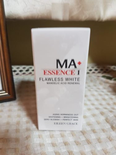 Eileen Grace MA+ Flawless White Mandelic Acid Renewal Essence photo review