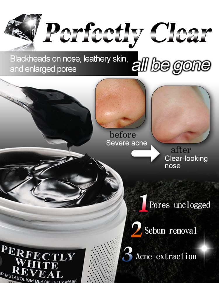 Black Jelly Mask - Product Functions