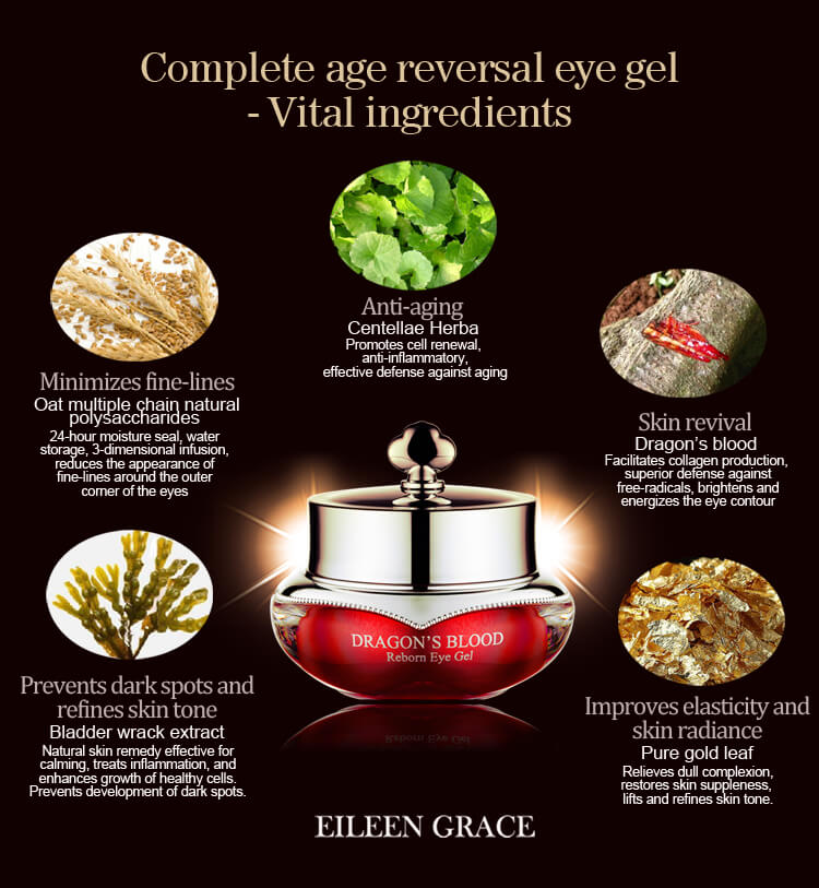 Reborn Eye Gel - Ingredients