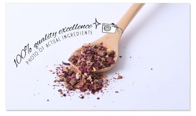 Hawthorn Rose Roselle Tea Packet - Info 6