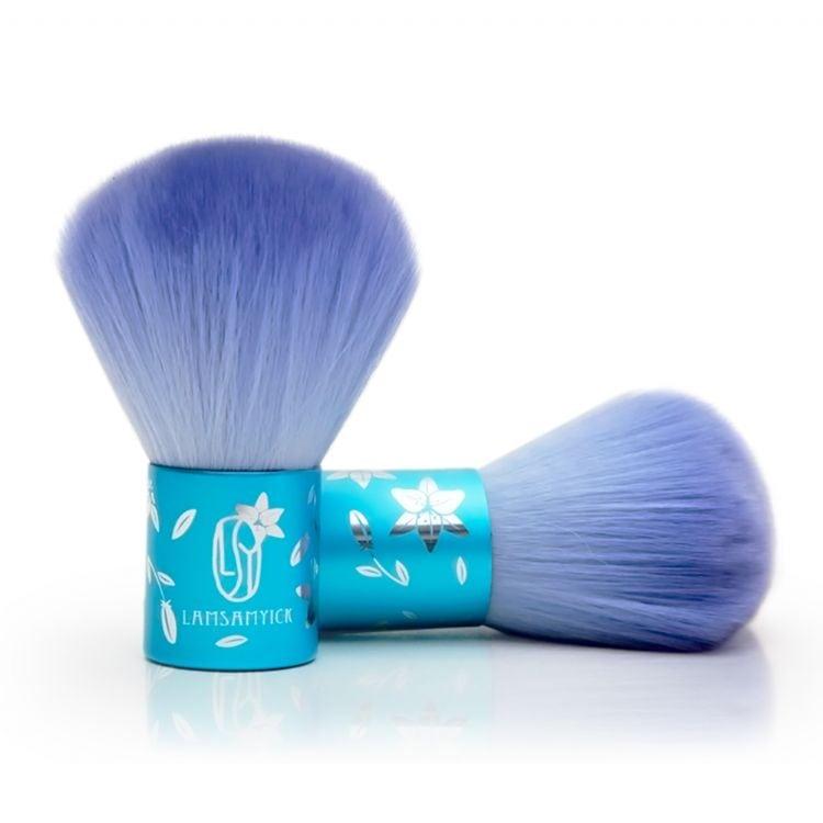 Blue Kabuki Blusher Brush - Product feature