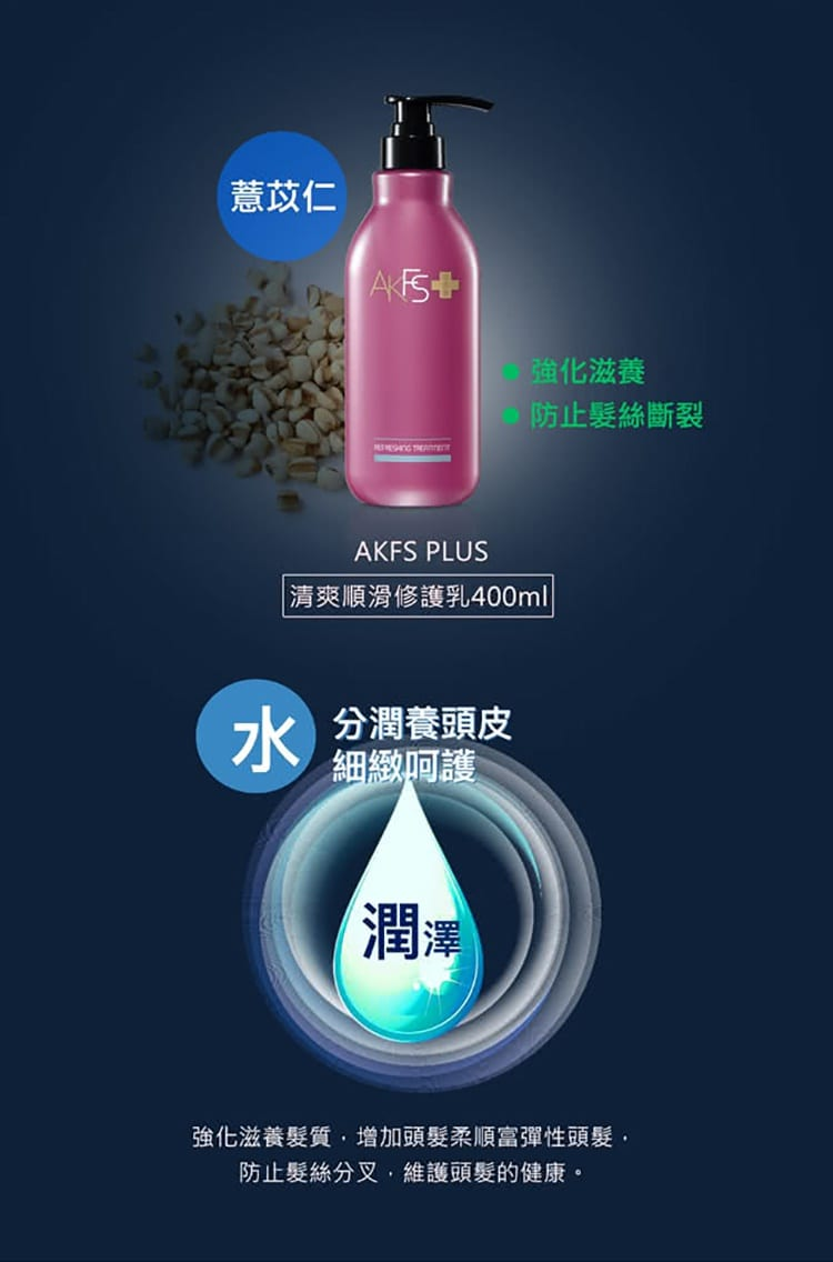 AKFS PLUS Refreshing Treatment - Product Details