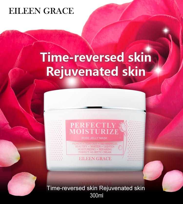 Moisturize Rose Jelly Mask - Packaging
