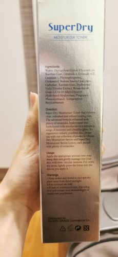 Eileen Grace Super Dry 24H Moisturizer Toner photo review