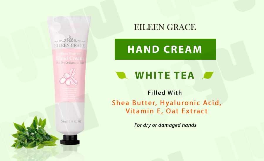 Hand Cream Shea Butter - Product Packaging