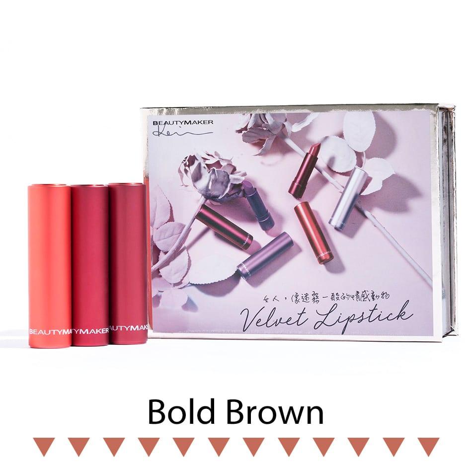 Long-Wear Velvet Lipstick - Product Packaging 01