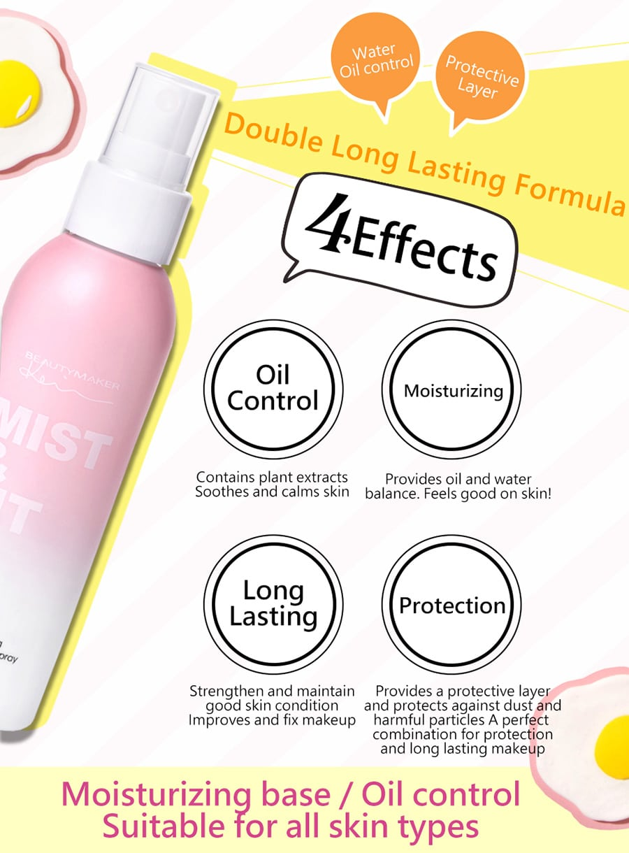 Makeup Setting Spray - Product Benefits