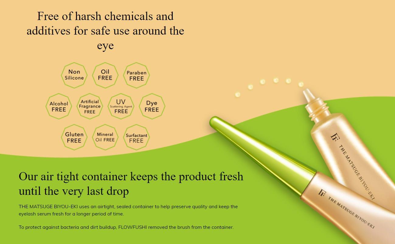 Flowfushi Eyelash Serum - Product Benefits 02