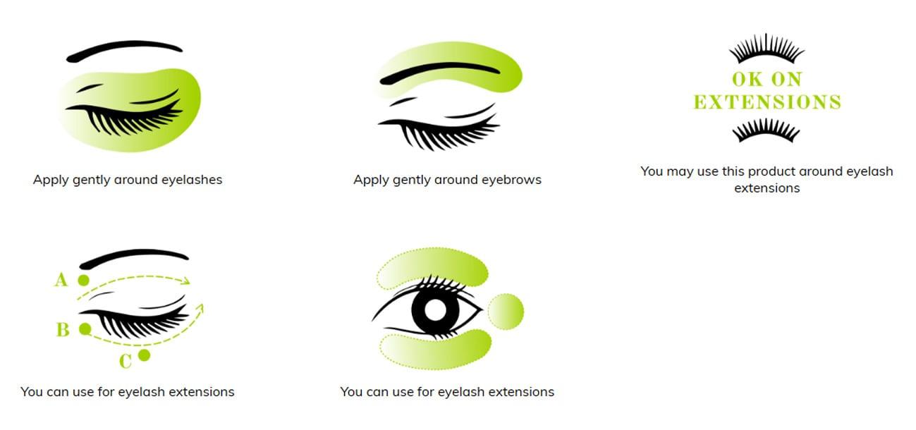 Flowfushi Eyelash Serum - Product Usage
