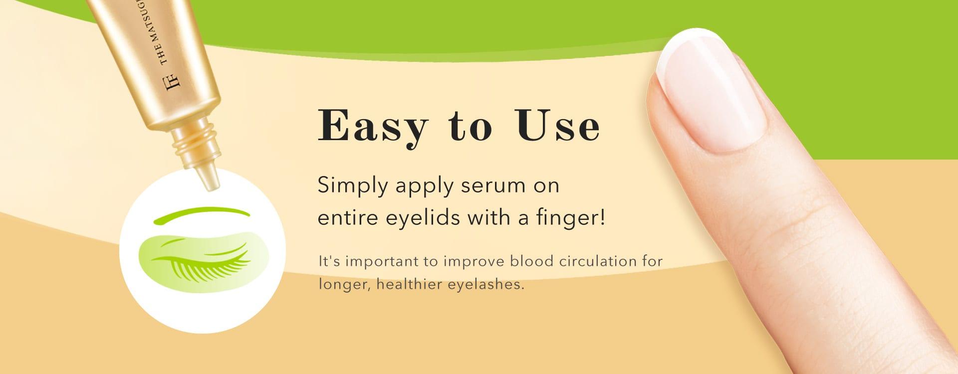 Flowfushi Eyelash Serum - Product Benefits 05