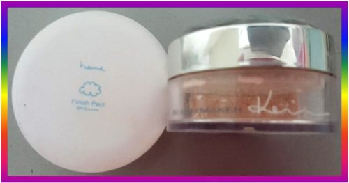 Heme Oil Control Finish Pact SPF30★★★★ photo review