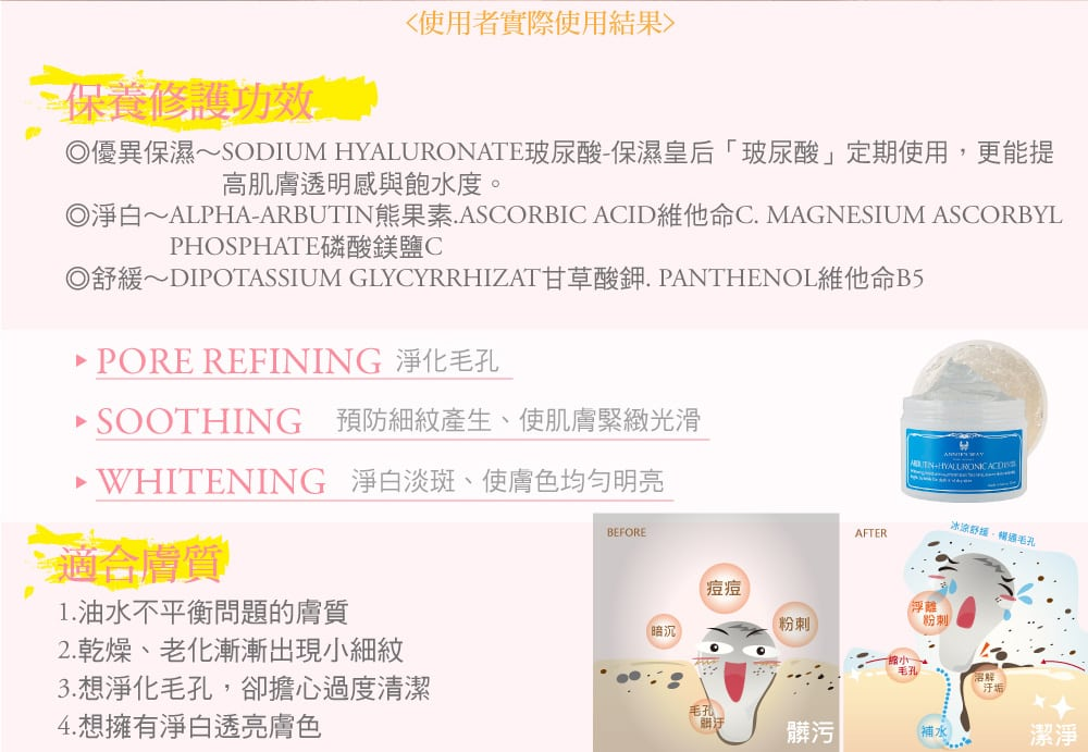 Brightening Jelly Mask - Product Benefits 02