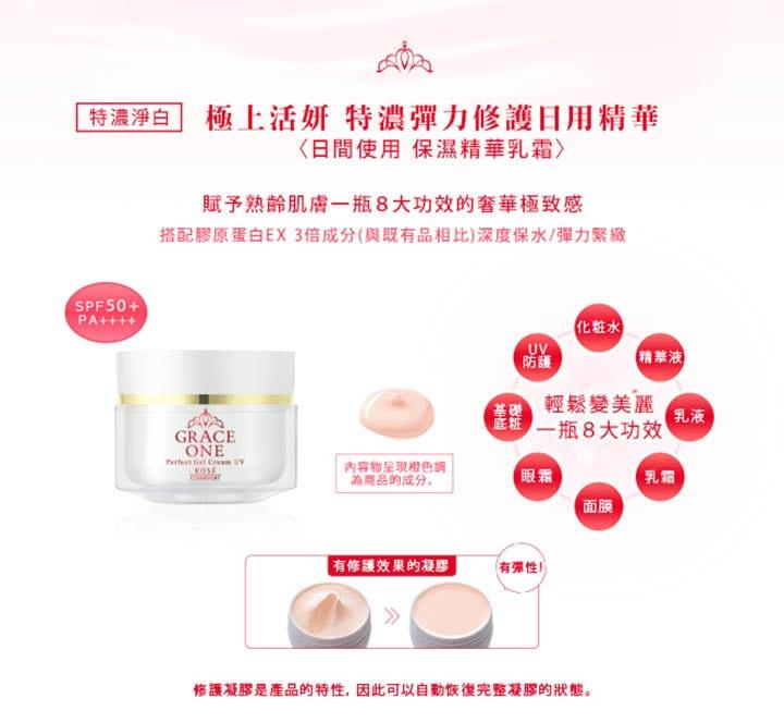 Grace One Perfect Gel Cream UV - Feature 4