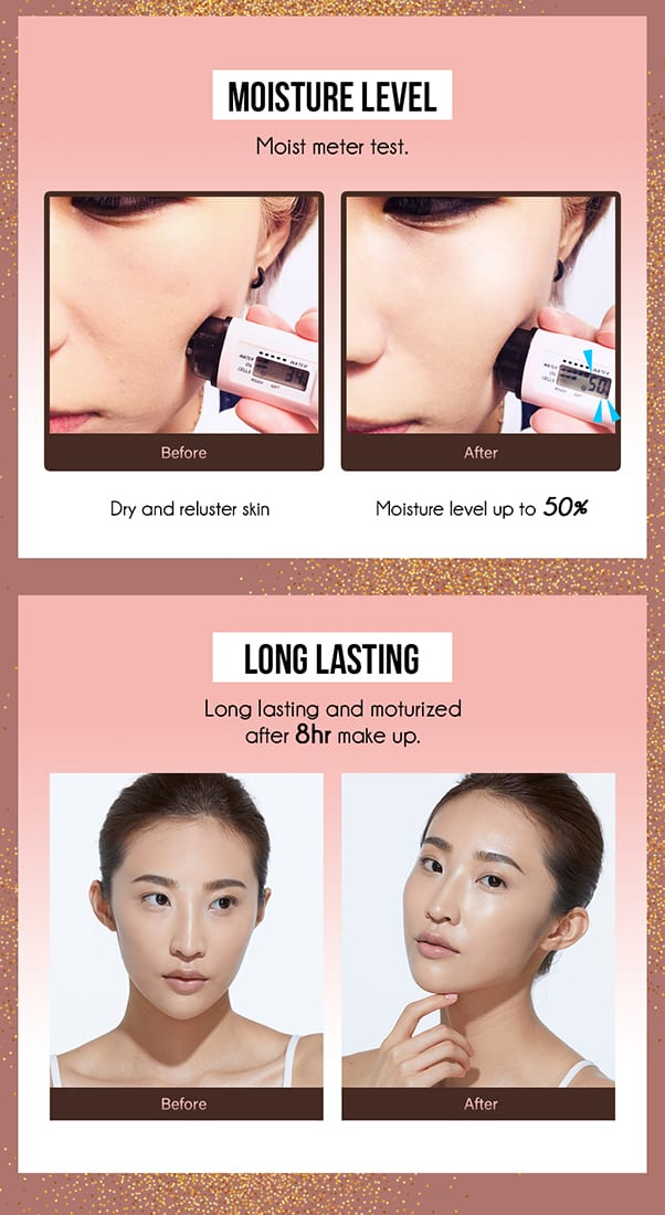 Caviar Elastic Liquid Foundation - Product Test 01