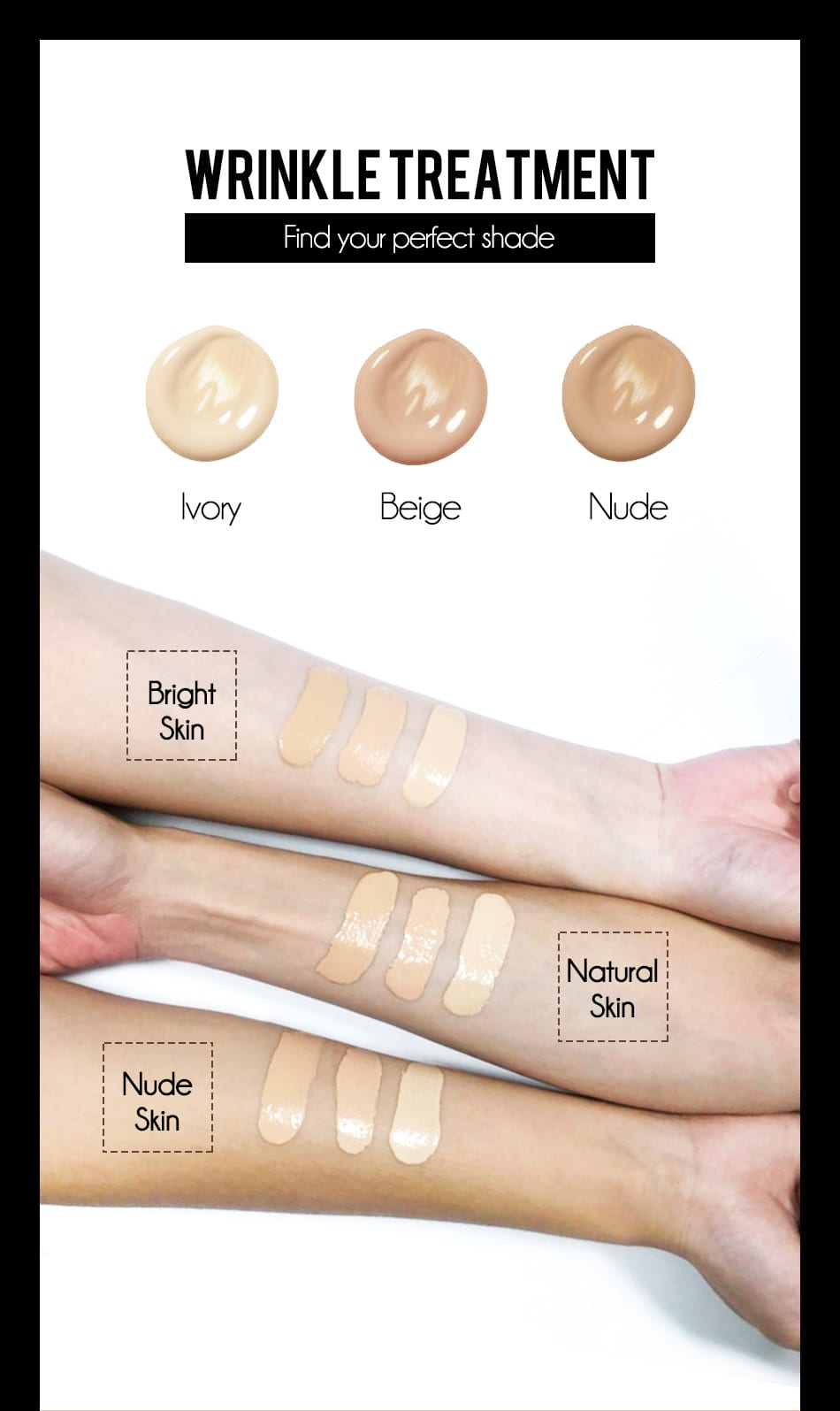 Perfect Liquid Foundation - Product Colors