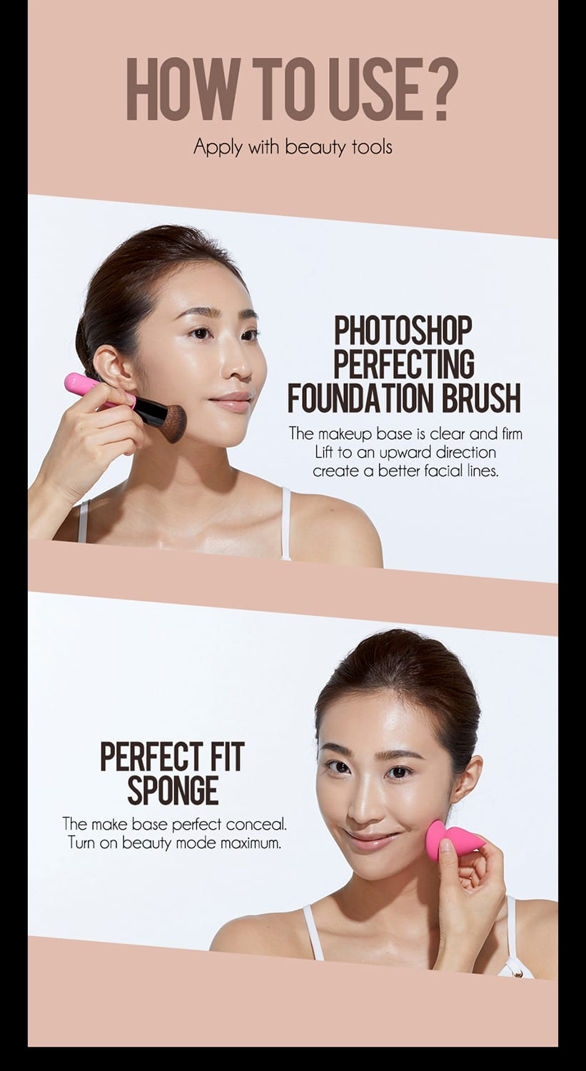 Perfect Liquid Foundation - How to use