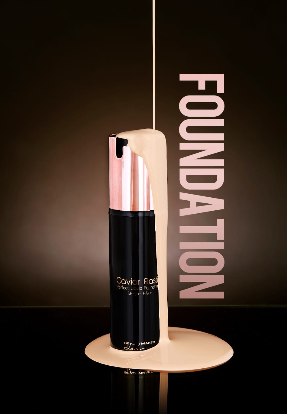Caviar Elastic Liquid Foundation - Product Packaging 01