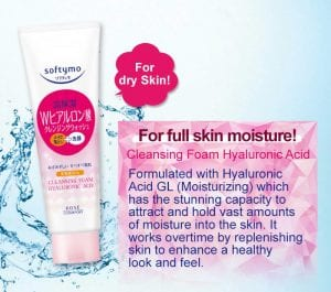 Softymo Cleansing Foam Hyaluronic Acid - Feature 1