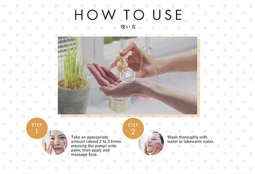 Lachesca Oil Cleansing - How to use