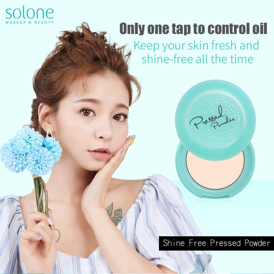 Shine Free Pressed Powder - Product Intro
