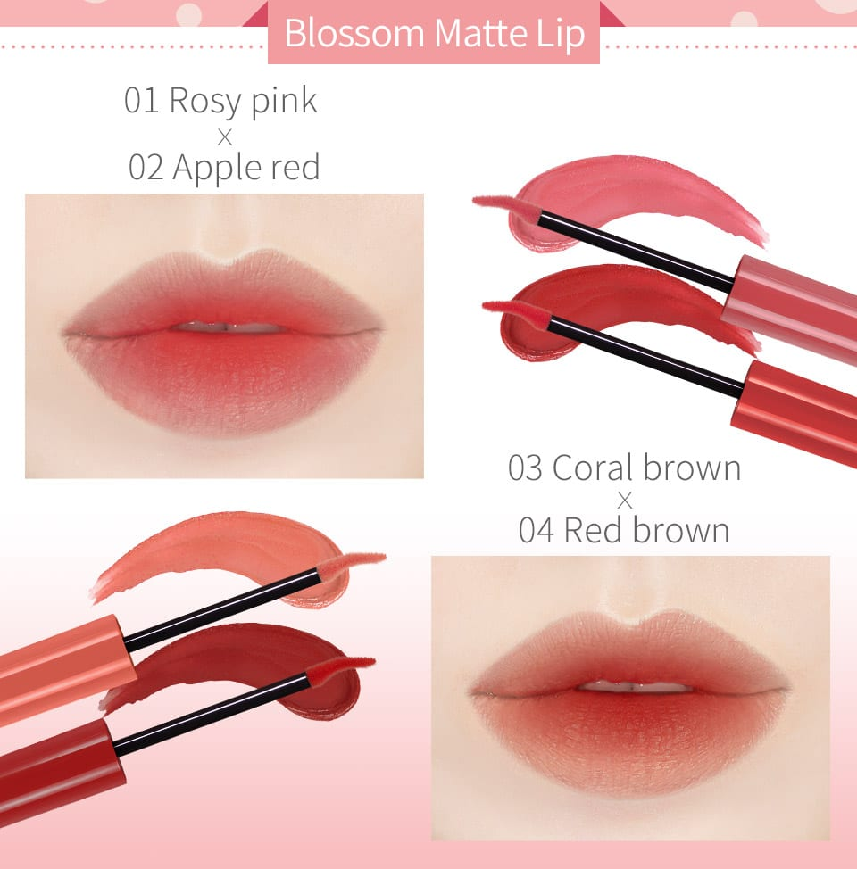 Melted Cream Multifunction Lip Tint - Product Mix
