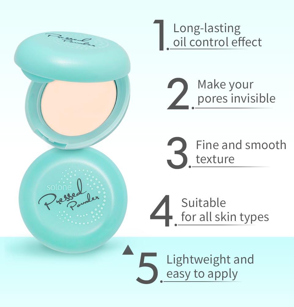Shine Free Pressed Powder - Product Info 01