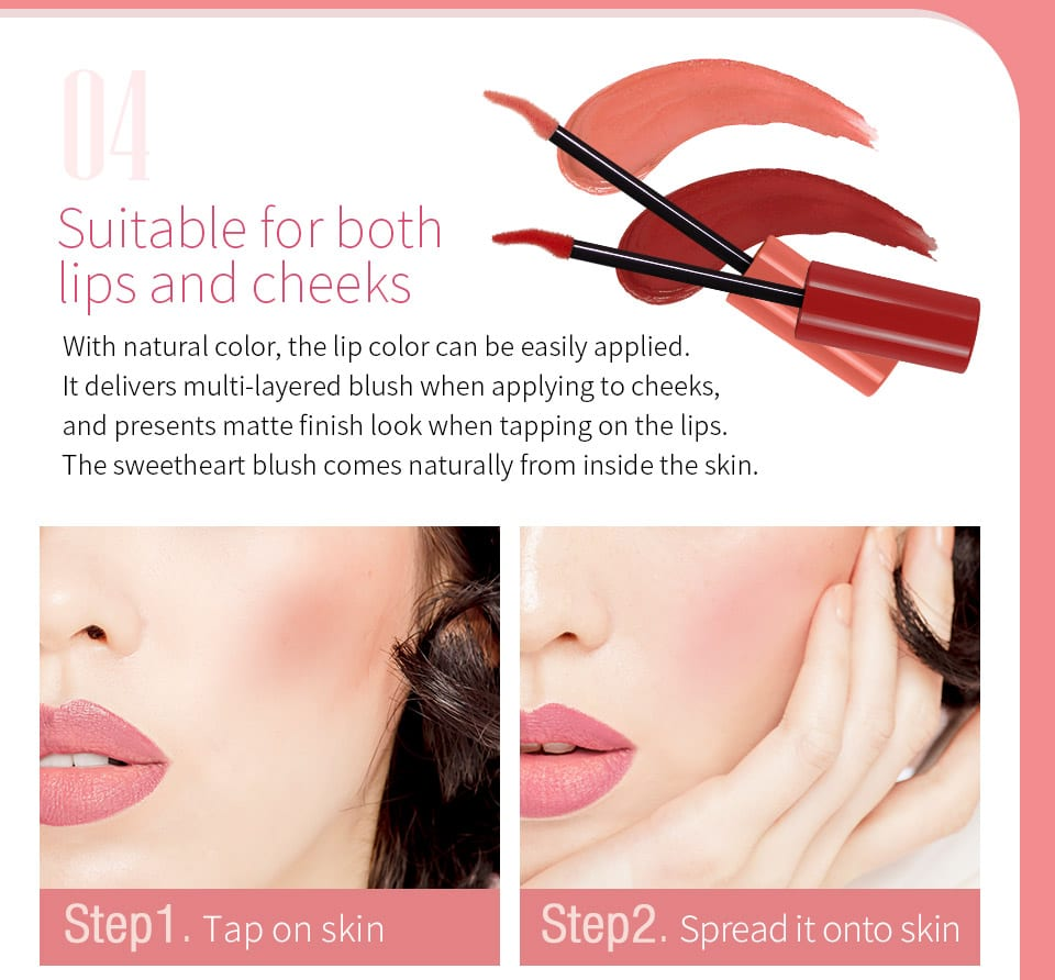 Melted Cream Multifunction Lip Tint - Product Info 03