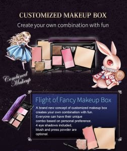 Glamorous Eyeshadow Pearl Series - Introduction makeup box