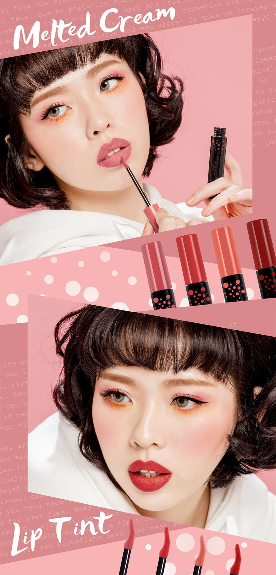 Melted Cream Multifunction Lip Tint - Poster