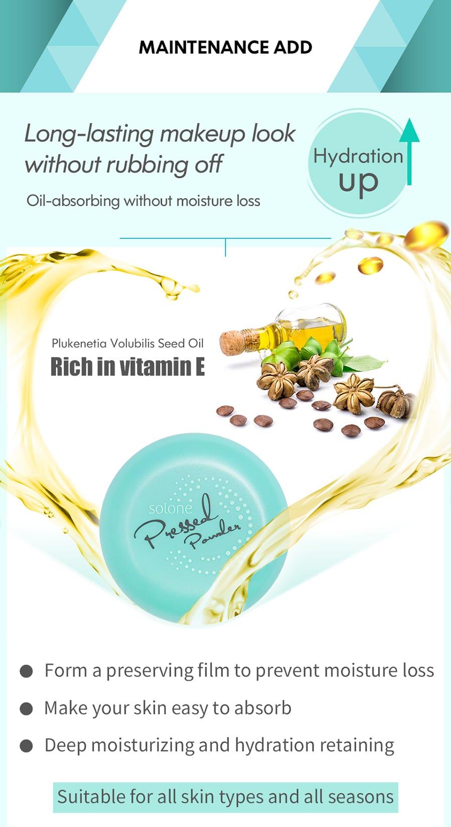 Shine Free Pressed Powder - Product Info 03