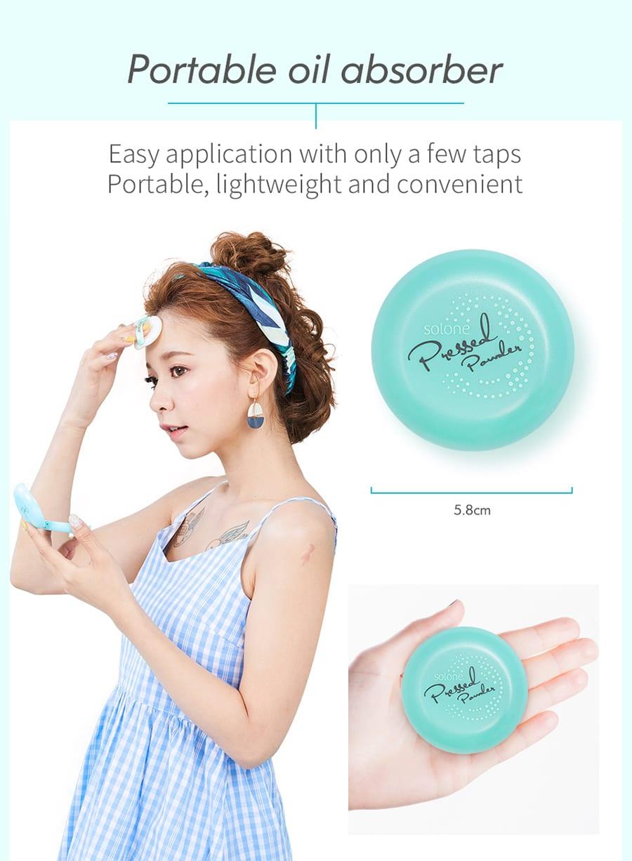 Shine Free Pressed Powder - Product Info 04