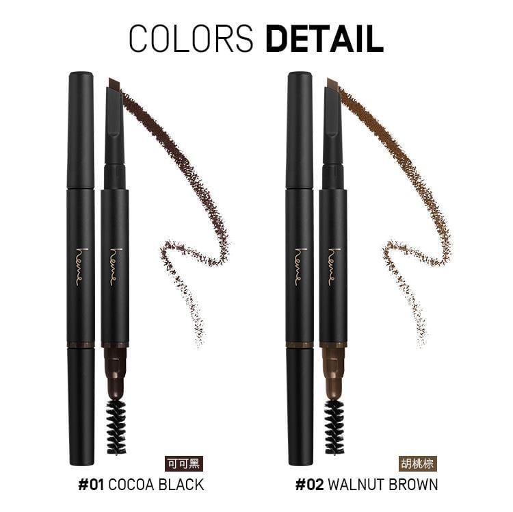 Heme Waterproof Brow Pencil - Color Details