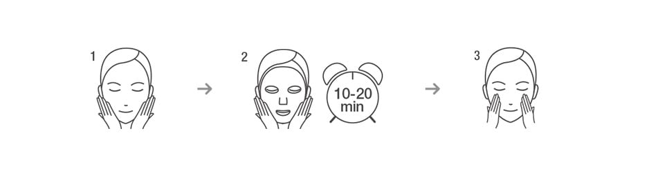 Vital Hydra Solution Mask - How to use