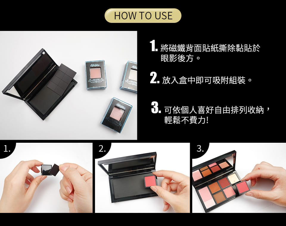 Hello Kitty Makeup Box - How to use