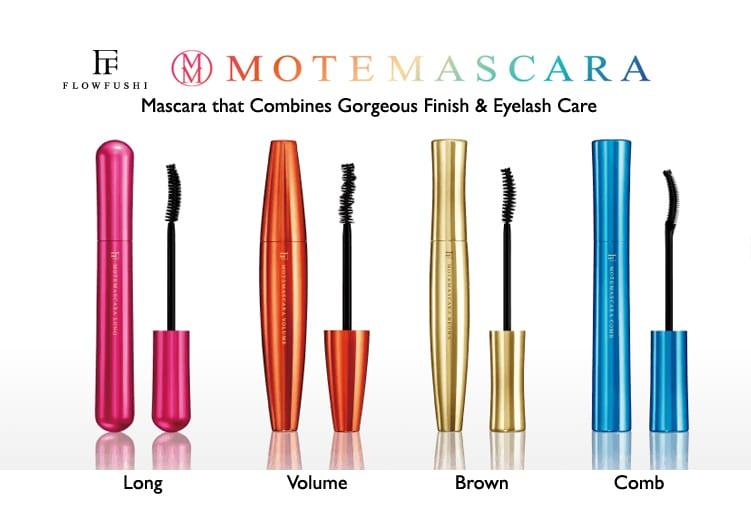 Flowfushi Mote Mascara - Product Colors 01
