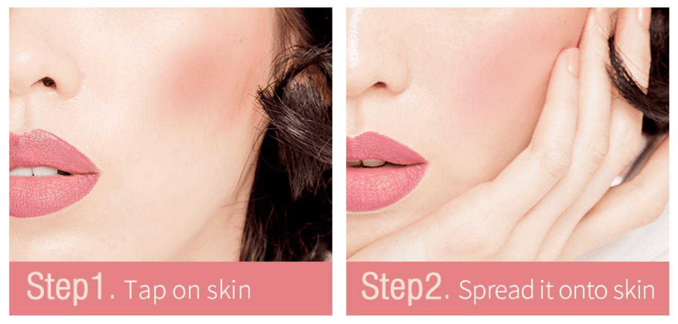 Melted Cream Multifunction Lip Tint - How to use