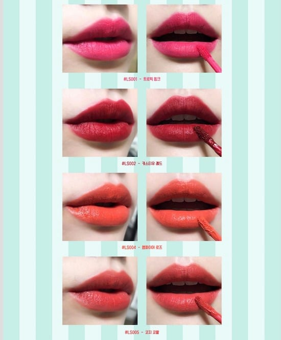 PETITE LAEL Lipstick - Product Colours