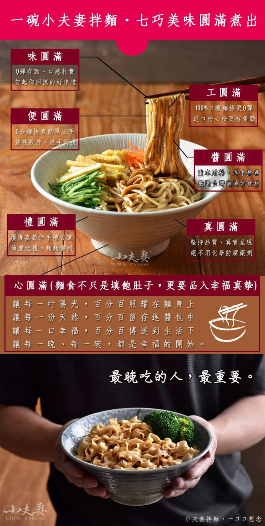 Little Couples Q Noodles - Features
