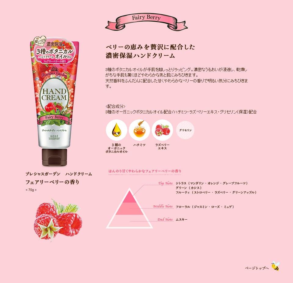 Precious Garden Hand Cream Series - Feature 2