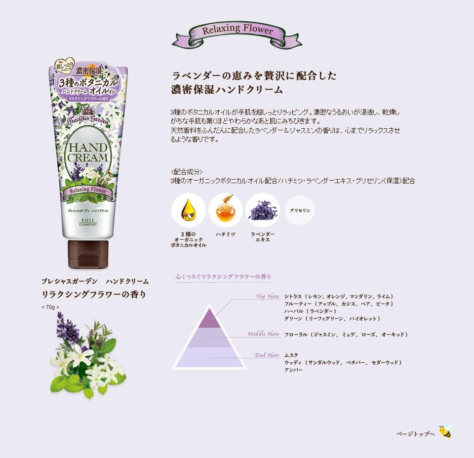 Precious Garden Hand Cream Series - Feature 3