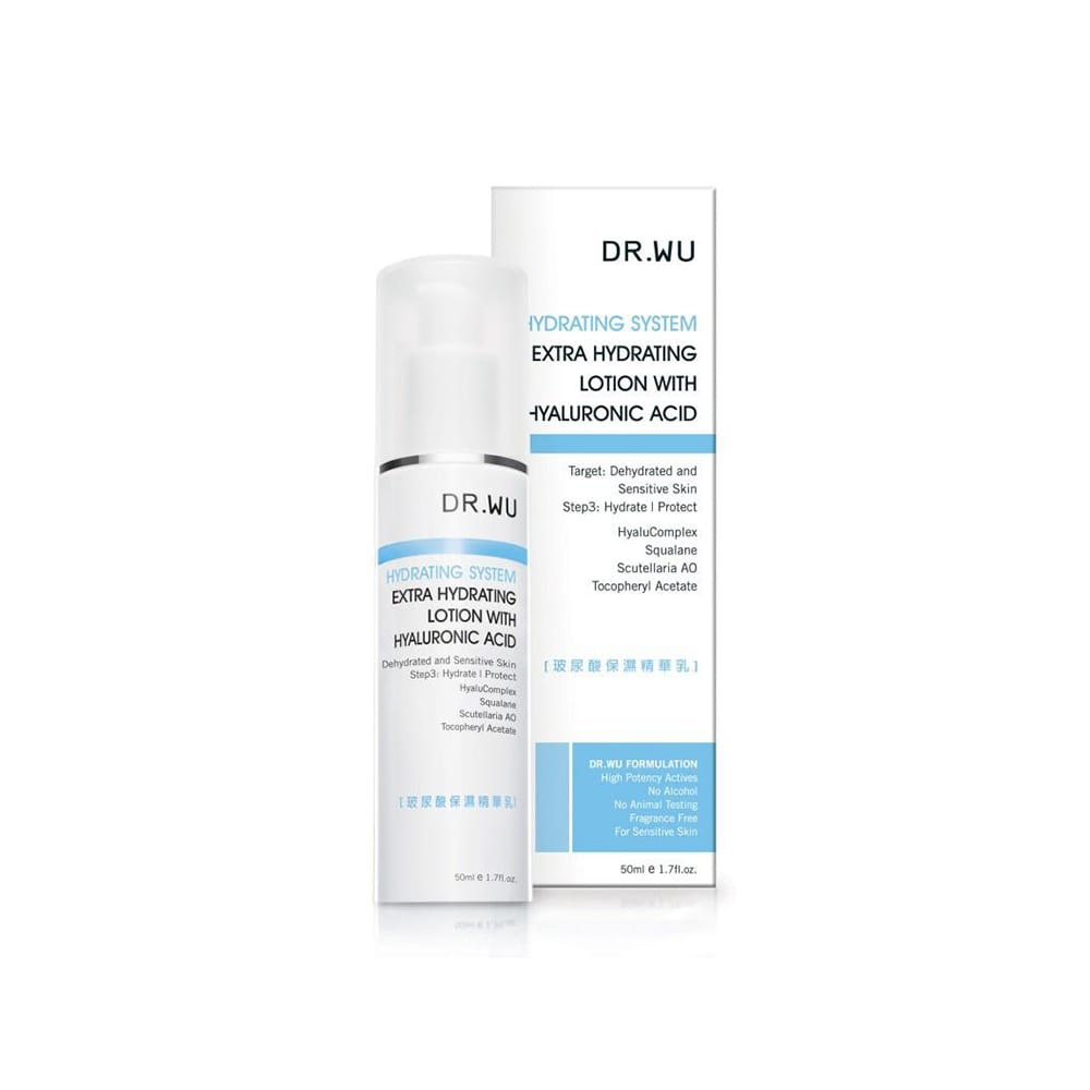Dr Wu Hydrating System Extra Hydrating Lotion with Hyaluronic Acid 50ml
