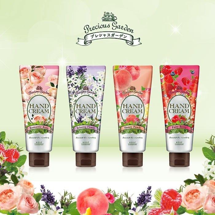 Precious Garden Hand Cream Series - Intro