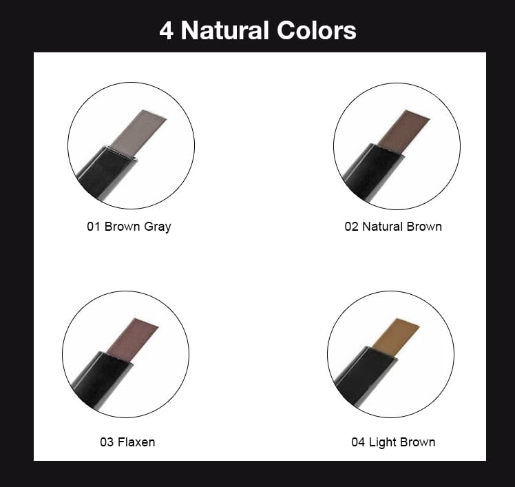 Tike Triangular Brow Pencil - Colors