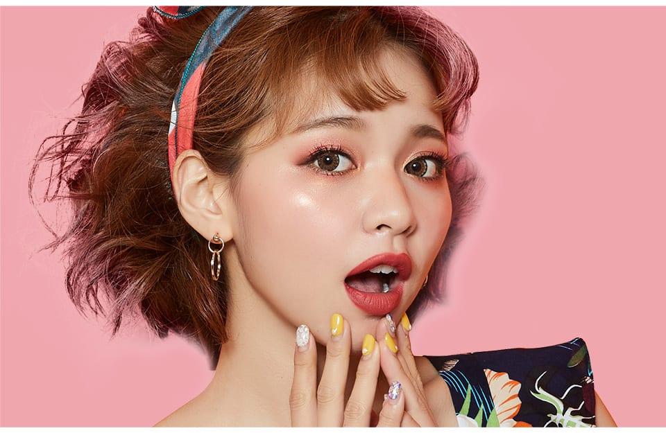 Solone Classic Eyeshadow Kit - Joyful Berry style look