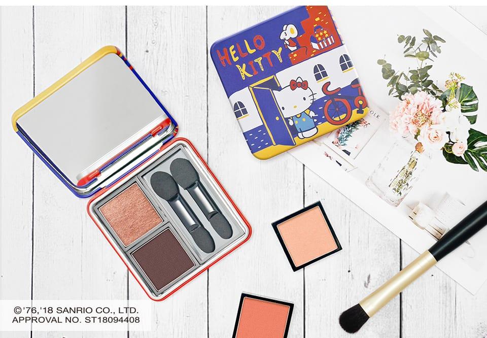 Solone Hello Kitty Eyeshadow Kit looks 1