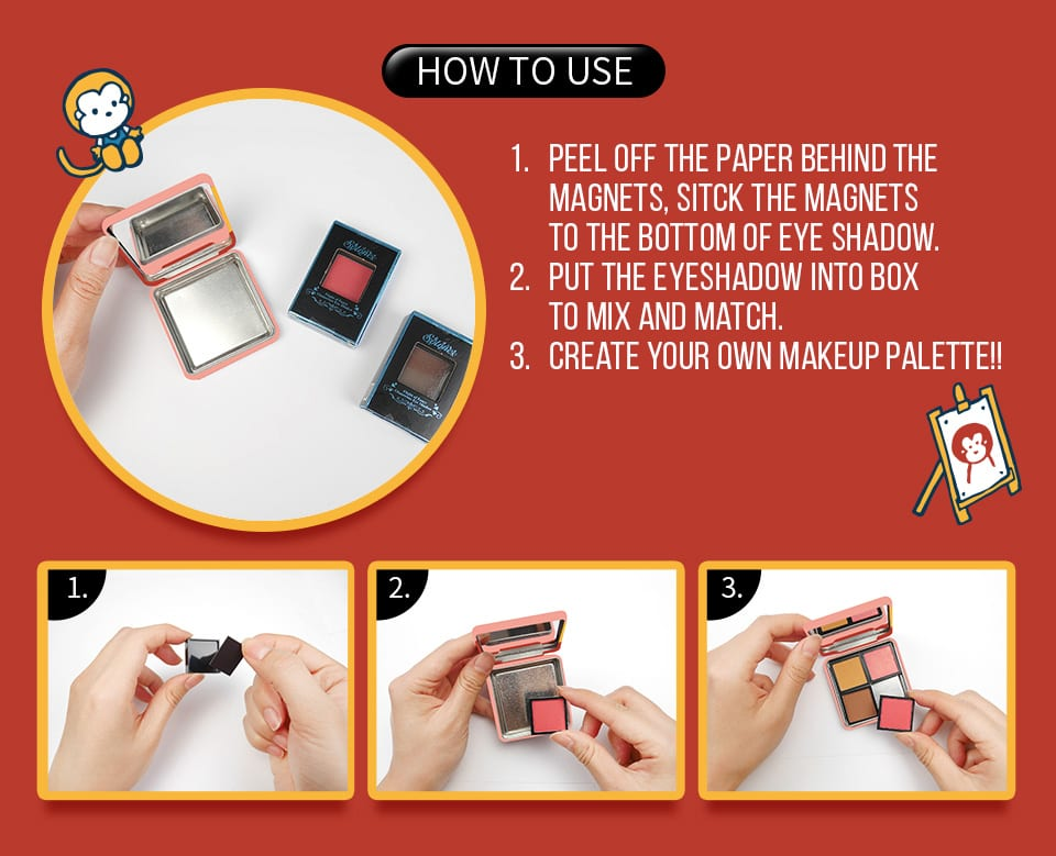Solone Hello Kitty Makeup Box how to use