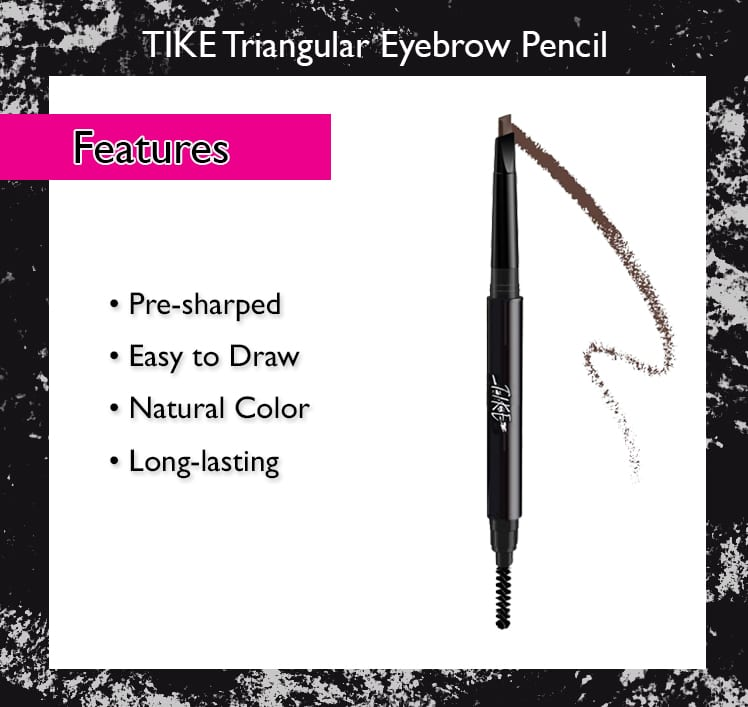 Tike Triangular Brow Pencil - Features