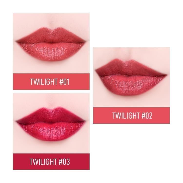 Heme Twilight Satin Lipstick- color details 1