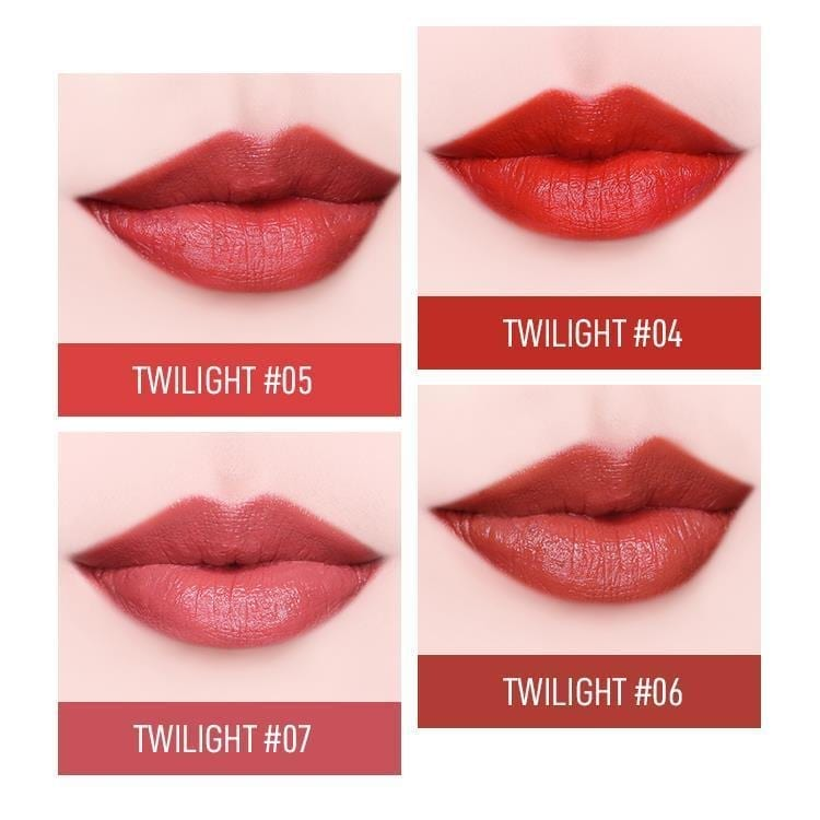 Heme Twilight Satin Lipstick- color details 2