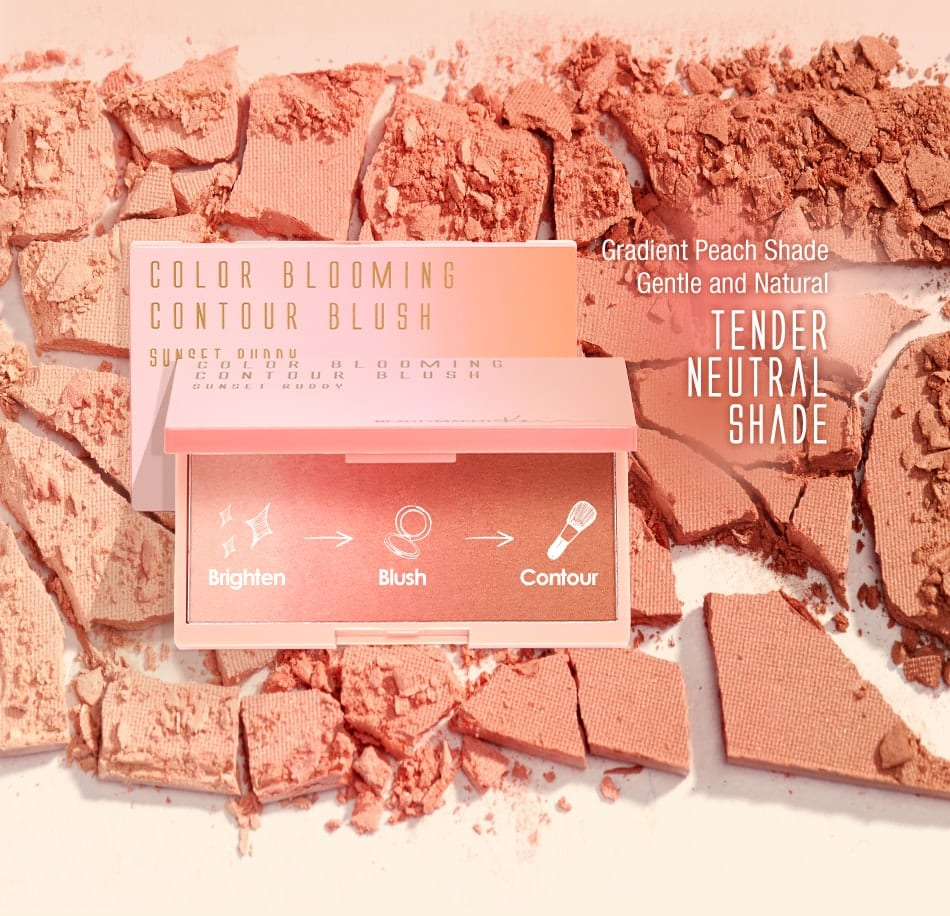 BeautyMaker Color Blooming Contour Blush - description